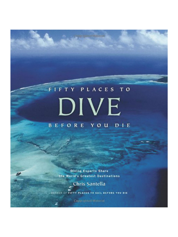 Libro fifty places to dive before die